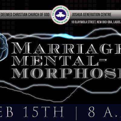Marriage Mentalmorphosis